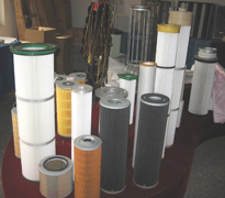 Industrial cartridge filters