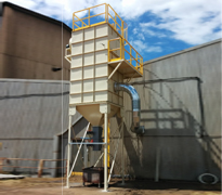Shot Blasting Dust Collector
